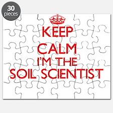 Keep calm I'm the Soil Scientist Puzzle