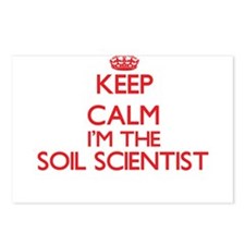 Keep calm I'm the Soil Sc Postcards (Package of 8)