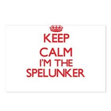 Keep calm I'm the Spelunk Postcards (Package of 8)