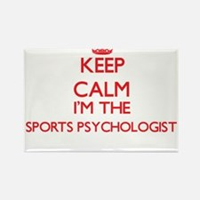 Keep calm I'm the Sports Psychologist Magnets