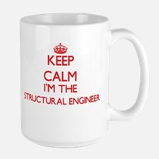 Keep calm I'm the Structural Engineer Mugs