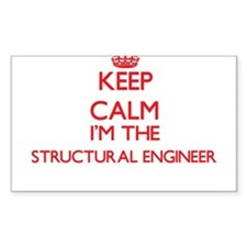 Keep calm I'm the Structural Engineer Decal