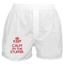 Keep calm I'm the Stuffer Boxer Shorts