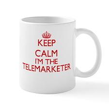 Keep calm I'm the Telemarketer Mugs