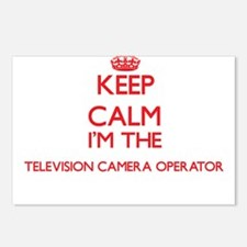 Keep calm I'm the Televis Postcards (Package of 8)