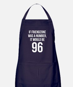 If Friendzone Was A Number Apron (dark)