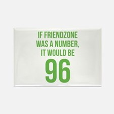 If Friendzone Was A Number Rectangle Magnet