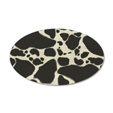 Faux Holstein Cow Cowhide Pa Wall Decal