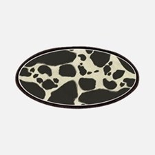 Faux Holstein Cow Cowhide Pattern Patches