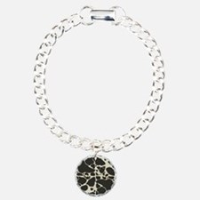 Faux Holstein Cow Cowhid Bracelet