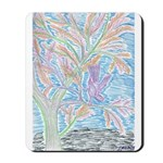 Young Bird in Tree Mousepad