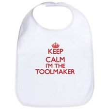 Keep calm I'm the Toolmaker Bib