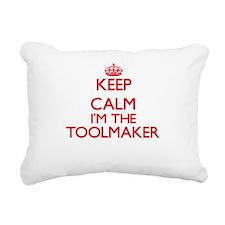 Keep calm I'm the Toolma Rectangular Canvas Pillow