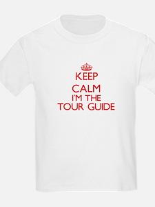 Keep calm I'm the Tour Guide T-Shirt