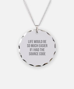 Life Source Code Necklace