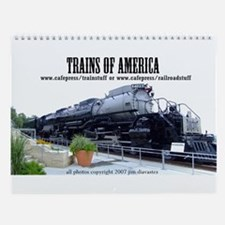 Trains of the U.S.A. Wall Calendar