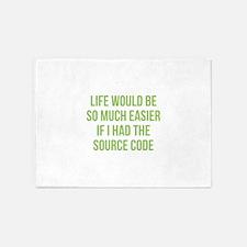 Life Source Code 5'x7'Area Rug