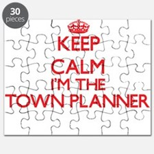 Keep calm I'm the Town Planner Puzzle