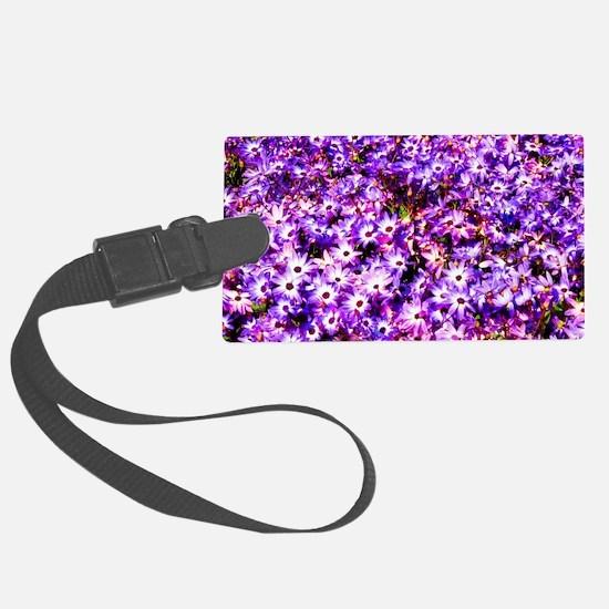 Purple Luggage Tag