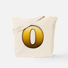 Big Gold Number 0 Tote Bag
