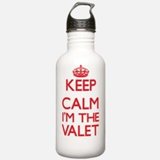 Keep calm I'm the Vale Water Bottle