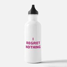 I Regret Nothing Water Bottle