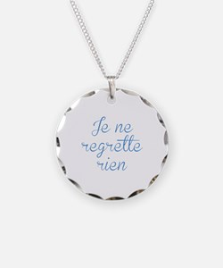 Je Ne Regrette Rien Necklace