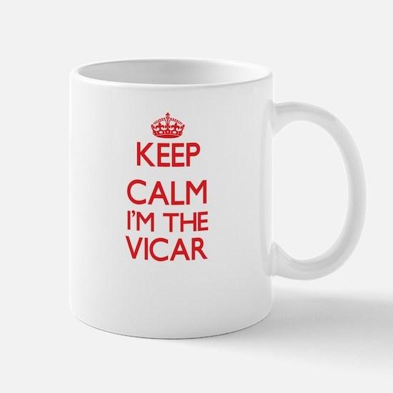 Keep calm I'm the Vicar Mugs