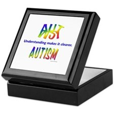 Understanding (Autism) Keepsake Box