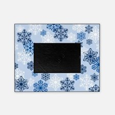 Holiday Winter Snowflake Photo Picture Frame