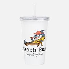 Beach Bum Acrylic Double-wall Tumbler