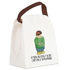 Cute Fat Canvas Lunch Bag