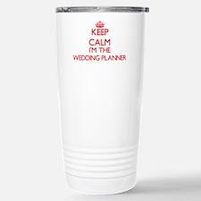 Keep calm I'm the Weddi Travel Mug