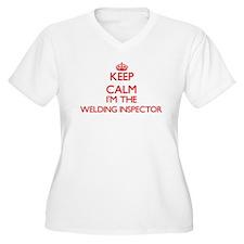 Keep calm I'm the Welding Inspec Plus Size T-Shirt