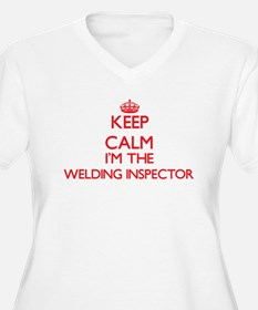 Keep calm I'm the Welding Inspec Plus Size T-Shirt