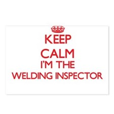 Keep calm I'm the Welding Postcards (Package of 8)