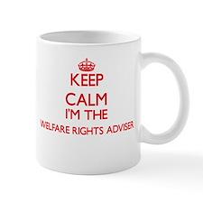 Keep calm I'm the Welfare Rights Adviser Mugs