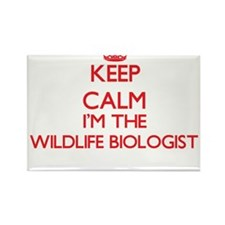 Keep calm I'm the Wildlife Biologist Magnets