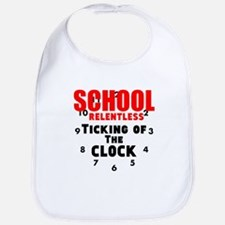 School Relentless Ticking of the Clock Bib