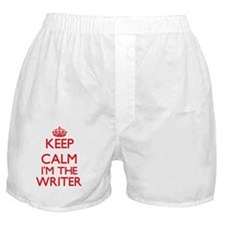 Keep calm I'm the Writer Boxer Shorts