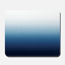 Indigo blue Ombre Mousepad