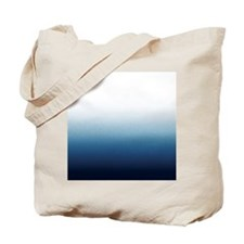 Indigo blue Ombre Tote Bag