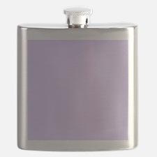 girly modern lilac purple  Flask