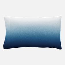 Indigo blue Ombre Pillow Case