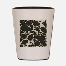 Faux Holstein Cowhide Pattern Shot Glass