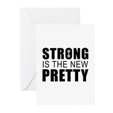 Strong Is The New Pretty Greeting Cards (Pk of 20)