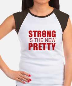 Strong Is The New Pretty Women's Cap Sleeve T-Shir