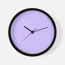 girly modern lilac purple Wall Clock