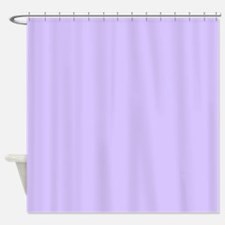 girly modern lilac purple Shower Curtain