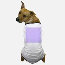 girly modern lilac purple Dog T-Shirt